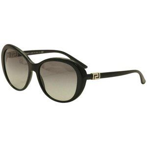 Versace Butterfly Style Gray Gradient Lens